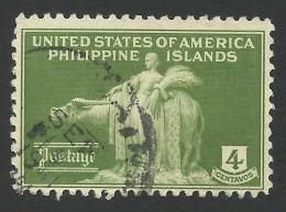 Philippines, 4 C. 1935, Sc # 384, Mi # 359, Used.. - Philippines