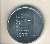 Korea V. 1977  1 Won  (49106) - Korea (Süd-)