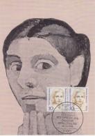 Berlin 1988 Paula Modersohn-Becker 2v On Maxicard (33559) - Maximum Kaarten