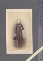 Photographie Fin XIXè - Photographe Desfray - Limoges, Algerie - Portrait Homme Médaillé ! - Personnes Anonymes