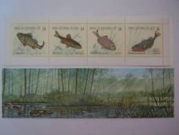 België Belgique 1990 Vissen Poissons Carnet Boekje Non Plié Yv 2383-2386 C2383 COB B20 C20 MNH ** - Booklets 1953-....