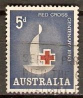 AUSTRALIE    -    CROIX-ROUGE. -   Oblitéré - Rotes Kreuz