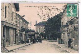 16 SAINT  SEVERIN  RUE  DE LA  POSTE   +  HOTEL  ET  TACOT  TBE   1W189 - Andere Gemeenten