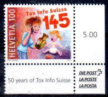 3.3.2016;  50 Ans Tox Info Suisse; Mi-Nr. 2437;  Neuf **, Lot 46753 - Nuovi