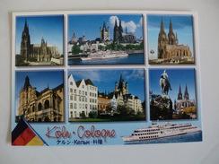 Postcard Postal Germany Köln Cologne Colonia - Koeln