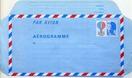 FRANCE 1983 Entier Postal EP NEUF Aérogramme Avion Concorde Tarif 3,10 Bicentenire Air Et Espace - Aérogrammes