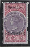 Nouvelle Galles Du Sud - N° 57 * - Neuf Avec Charnière - Mint Stamps
