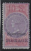 Nouvelle Galles Du Sud - N° 56 * - Neuf Avec Charnière - Spécimen - Mint Stamps