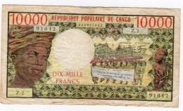 10 000 FRANCS   REPUBLIQUE POPULAIRE DU CONGO ND  (1978) - Congo