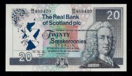 Test Note?, Schottland  20 Smakeroonies, Testnote?, Typ A, RRRR, UNC, 170 X 90 Mm, Trial,  Play Money? - Ver. Königreich