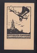 Kyfhäuser Flugspende PK 1921 - Airmail