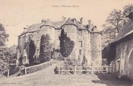 CPA - 27 - HARCOURT - Château - Harcourt
