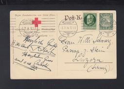 Bayern Rotes Kreuz GSK Mit ZuF 1914 München Nach Luzern - Bayern (Baviera)