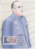 Berlin 1989 Carl Ossietzky 1v Maxicard (33574) - Maximum Kaarten