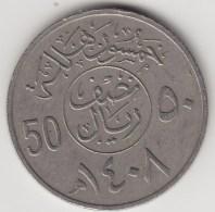 @Y@    Saoedi Arabië  50 Halala         (3689) - Saudi-Arabien
