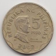 @Y@    Filippijnen   5 Piso  2002         (3691) - Filippijnen