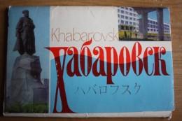 Russia. Khabarovsk  14 PCs Lot. Old Postcard 1968 - Rusland