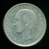 GREECE, 1 Drachmi 1873  KING GEORGE 1st - Grèce