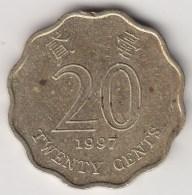 @Y@   Hong Kong  20 Cents  1997      (3706) - Hong Kong
