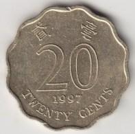 @Y@   Hong Kong  20 Cents  1997     (3720) - Hong Kong