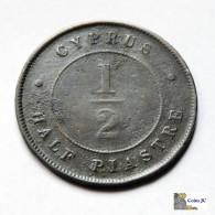 Cyprus - 1/2 Piastre - 1890 - Chypre