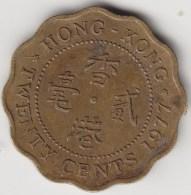 @Y@   Hong Kong  20 Cents  1977     (3731) - Hong Kong