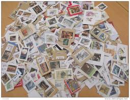 LOT 0.5 KILO 500 GRAMMES   EIRE IRLANDE MISSIONS SUR FRAGMENTS NOUVEL ARRIVAGE DE MAI 2016 - Briefmarken