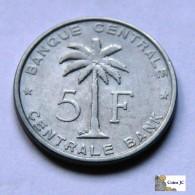 Belgian Congo - 5 Francs - 1956 - Congo (Belgisch) & Ruanda-Urundi