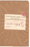 TP 514 S/Manchon Association Fr.pour L'Avancement Des Science C.Paris En 1942 ? V.BXL Censure De Cologne PR3624 - Marcophilie (Lettres)