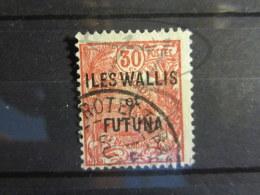 "BEAU TIMBRE DE WALLIS ET FUTUNA N° 22 , CACHET "" PROTECTORAT "" !!! - Wallis And Futuna"