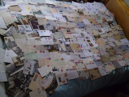 France Album (2000+ Stamp), Cover (225+) Collection. 19thC-mod. Huge Cv. Mint LH/FU, Military,airmail Covers++ - France