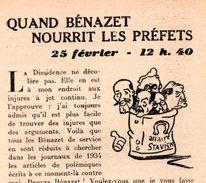 Libro  Fascicule N°3 Février 1944 EDITORIAUX Radio Par Philippe HENRIOT Secrétaire D'état Propagande ( Pétain ) - Politique