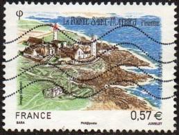 Oblitération Moderne Sur Timbre De France N° 4679 - Série Touristique - La Pointe St Mathieu ( Finistère) - France