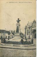 N°51957 -cpa Marines -monument De L'amiral Peyron- - Marines