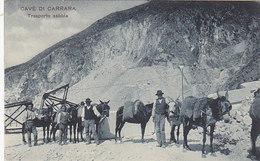 Cave Di Carrara - Traspoto Sabbia     (PA-5-101018) - Carrara
