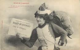 PIE-16-4004 : EDITION BERGERET NANCY. BILLET DE LOGEMENT - Cartes Postales