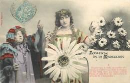 PIE-16-4006 : EDITION BERGERET NANCY. LEGENDE DE LA MARGUERITE - Cartes Postales