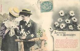 PIE-16-4012 : EDITION BERGERET NANCY. LEGENDE DE LA MARGUERITE  COLORISEE - Cartes Postales