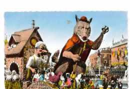 CPSM 06 NICE CARNAVAL LXXVI LE LOUP ET LE BERGER - Carnaval