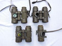 LOT 3 PAIRES JUMELLES NIKON 8  X 30 - COMMANDOS MARINE - Pour Pièces Ou à Restaurer - Optics