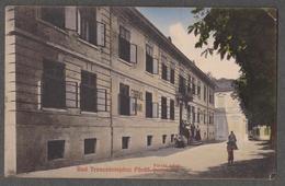 HUNGARY - BAD TRENCSENTEPLICZ - FURDO - FORRAS UDVAR - QUELLEN HOF - Travelled 1918 - HERMANN SEIBT, MEISSEN - Hungary
