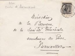 N° 401 / Lettre D'  * ARLON Centre D' Excursions  * Vers BXL - 1934-1935 Léopold III