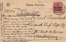 Carte Namur Deutsches Reich 1915