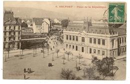 90 Territoire De Belfort  (Franche-Comté)        BELFORT     Place De La République - Belfort - Ciudad