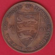 Jersey - 1/12 Schilling 1881 - Jersey