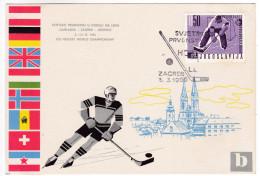 746 Ice Hockey World Championship 1966 Zagreb - Hockey (sur Glace)
