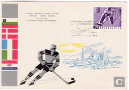 747 Ice Hockey World Championship 1966 Jesenice - Hockey (sur Glace)