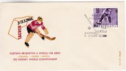 749 Ice Hockey World Championship 1966 Zagreb - Hockey (sur Glace)