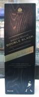 AC - JOHNNIE WALKER DOUBLE BLACK SCOTCH WHISKY EMPTY 1 LITRE BOTTLE FROM TURKEY - Verres