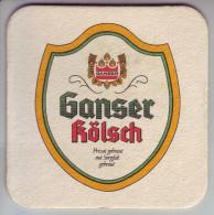 - SOUS-BOCK - GANSER KÖLSCH - - Sous-bocks